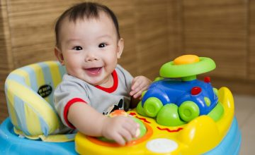 Infant Child Care in China Spring